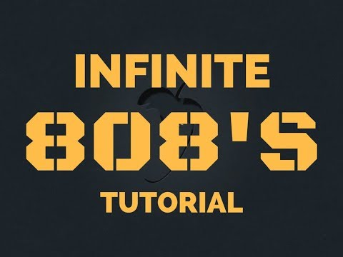 HOW TO MAKE INSANE INFINITE 808S (STRETCH OUT 808S WITHOUT LOSING QUALITY)