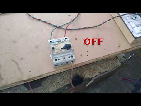 Earth leakage circuit breaker working with human body