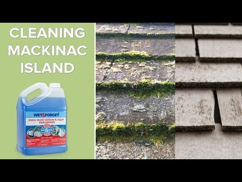 Wet And Forget Outdoor: Cleaning Mackinac Island