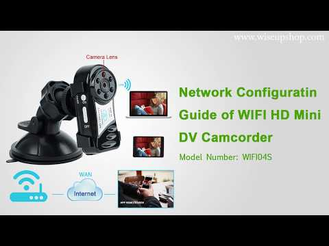 720P HD Wireless Mini DV Camcorder Complete Operation Instruction (Model Number: WIFI04S)