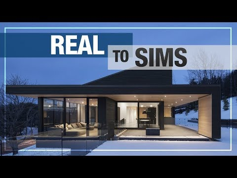 REAL TO SIMS | NEW SERIES! | MODERN HOUSE No.1 NO CC + DOWNLOAD LINK