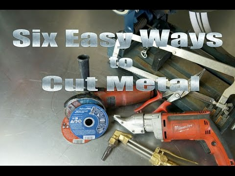 Home Metal-Shop Tips 101: 6 Easy Ways How To Cut Metal
