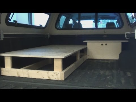 Truck Canopy Sleeper  -  Part One