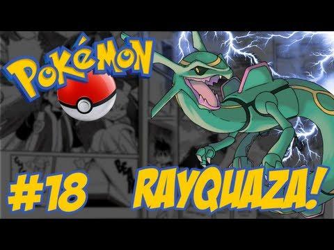 Pokémon Emerald - Temos que Pegar #18 / Sky Pillar / Rayquaza Desperta!!