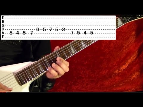 LOOKS THAT KILL by MOTLEY CRUE - Guitar Lesson