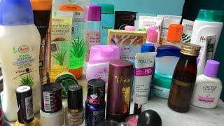 TOP 25 Skin Care & Makeup Products Under Rs 100 II Indian girl channel