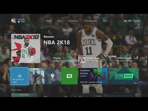 How To Gameshare On The New Xbox One 2018 UI Update *FAST & EASY*