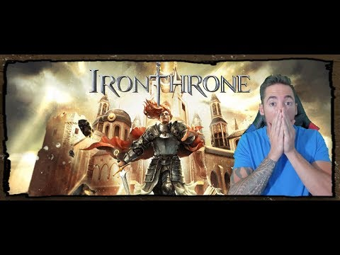 Iron Throne The Newest iOs/Android MMO Game!!
