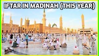 Iftar in Madinah Ramadan 2018: Masjid an-Nabawi Umrah Vlog 1439 رمضان المسجد النبوي