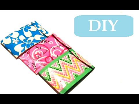 {DIY} Duct Tape Mini Journal