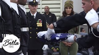 Nikki attends a United States Navy Ceremonial Guard demonstration for Tribute to the Troops