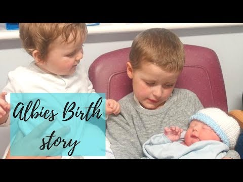 Albies Birth Story   Live Cesarean Section   Planned C-Section