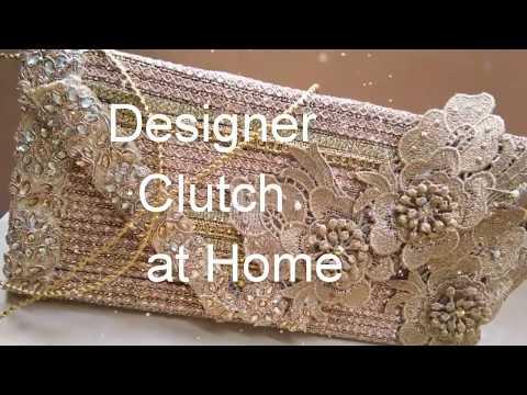 DIYDesigner clutch purse ll fashion with fab creations ll purse ll bag ll fashionwithfabcreations ll
