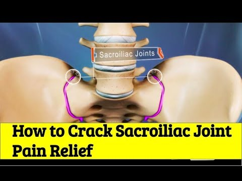 How to Back Crack Sacroiliac Joint SI to Relieve Leg Pain and Lumbar Pain