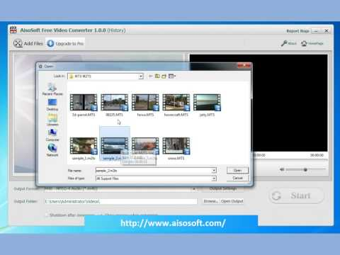 Free MTS Video Converter - Free HD video converter - Free iPhone M4R Converter