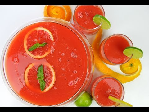 Fruit Punch The Ultimate Summer Drink (NO added Sugar) | CaribbeanPot.com