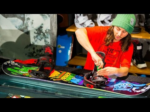 How to Set Up Your Snowboarding Bindings With Danny Kass
