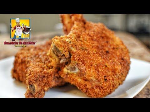 Best Fried Pork Chop Recipe! How to Cook Pork Chops!