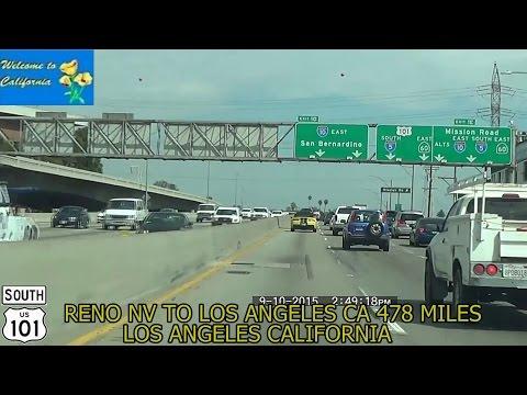 Reno NV to Los Angeles CA 2015 HD