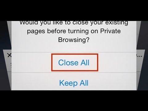 Easily Close All of the Safari Tabs at Once with iOS 7 iPhone & iPad [How-To]