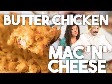 🍲 Butter Chicken Mac & Cheese | Easy shortcut recipe | Kravings