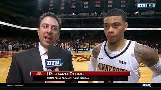 Richard Pitino and Nate Mason Talk Senior Day Victory