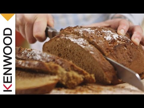 Russian Rye Treacle Bread Recipe | Demonstrated with Kenwood Chef Titanium