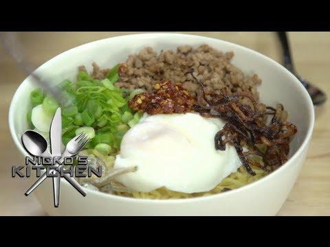 CHILLI PAN MEE (Malaysian Cuisine) - Nicko's Kitchen