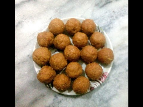 How to make Kobbari Undalu Coconut Laddu in Telugu