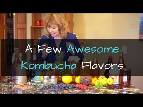 My favorite Kombucha Flavors - Ingredients for Flavoring Kombucha
