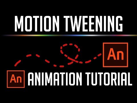 Learn Motion Tween Animation in 10 Minutes | Adobe Animate 2019 Tutorial for Beginners