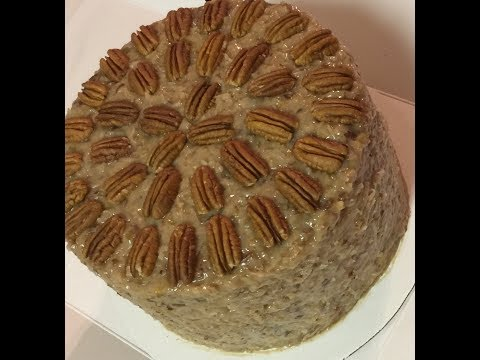 German Chocolate Cake Part II