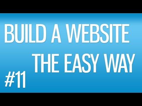 BUILD A WEBSITE #11 - Creating a Contact Form