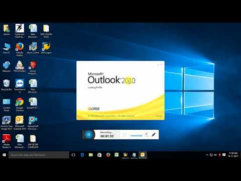 How to Configure e-mail Account in Outlook 2010 With New PST Create Steps