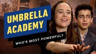 Umbrella Academy Cast: Powers and Abilities Ranked