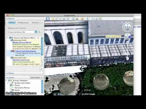 Using Google Earth/Maps for Setting Description