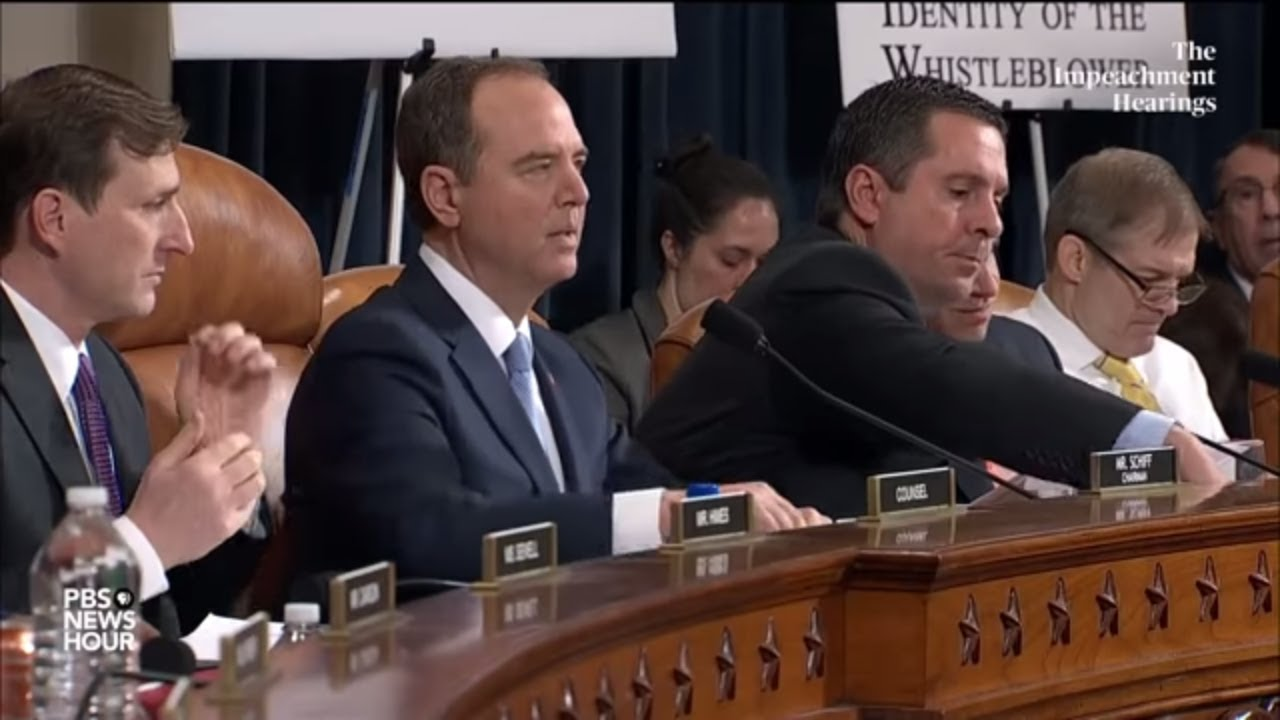 WATCH: Republicans, Democrats clash at the start of Day 2 of first impeachment hearings