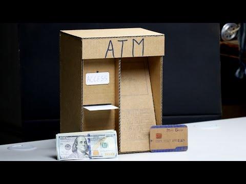 Wow! Amazing ATM Machine DIY for Kids