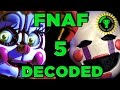 Game Theory Fnaf Sister Location Decoded Fnaf 5