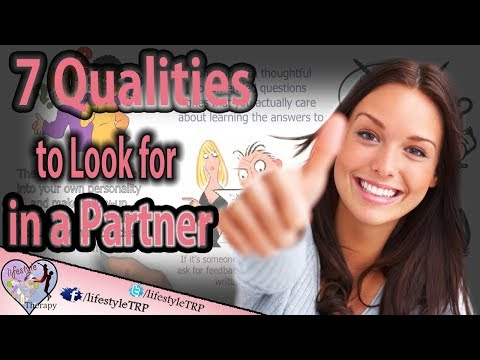 7 qualities to look for in a partner | animated video