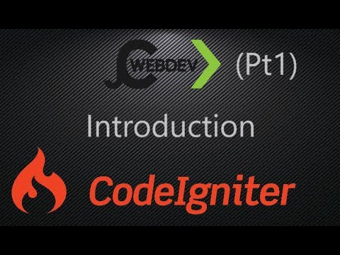 (pt1) Build a CMS in CodeIgniter, intro and basic page layout.