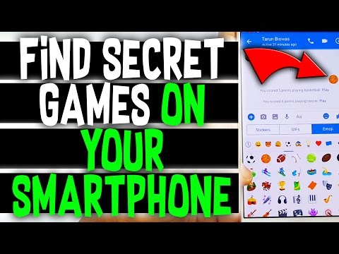Hidden Secret Games All Smartphones Already Has !! @ Find Secret Games on your Android Phone