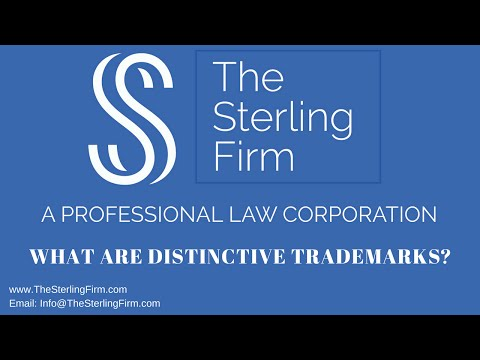WHAT ARE DISTINCTIVE TRADEMARKS?
