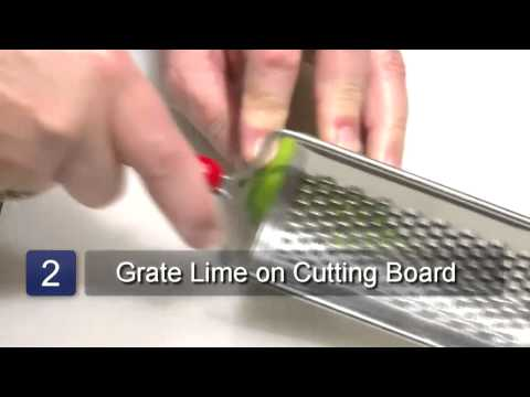 How to Zest a Lime Without a Zester