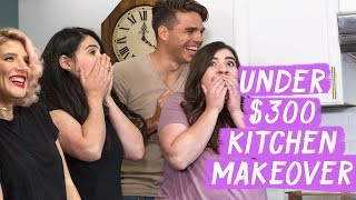 Under $300 Kitchen Makeover! | Mr. Kate Decorates on a Budget