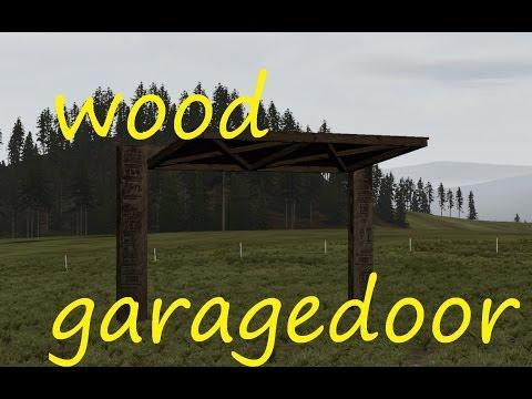 dayz epoch how to craft wooden garagedoor