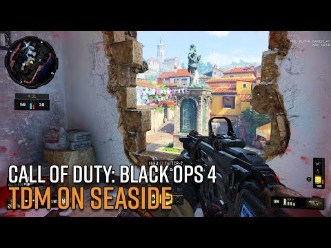 Call of Duty: Black Ops 4 Multiplayer Gameplay - TDM on Seaside