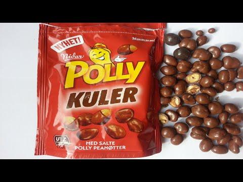 Nidar Polly Salty Peanuts with Milk Chocolat