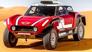 Ultimate MINI John Cooper Works Buggy Video + Driving Interior 2018 X raid World Premiere CARJAM TV