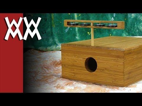 Build your own multi-function stomp box / tambourine / cajon